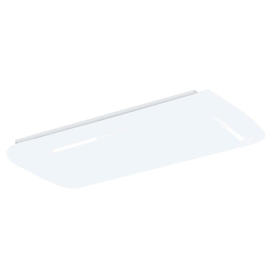 Portfolio Frosted Acrylic Flush Mount Fluorescent Light (Common: 2-ft; Actual: 26.5-in)