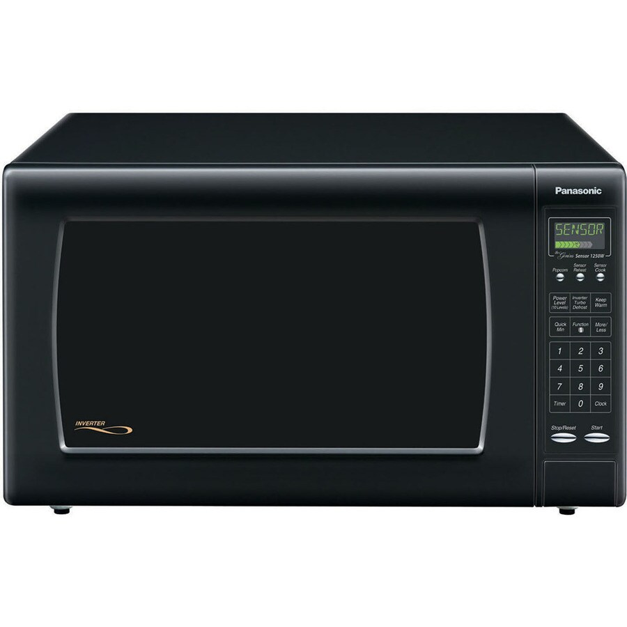 Shop Panasonic 2 2 Cu Ft 1 250 Watt Countertop Microwave