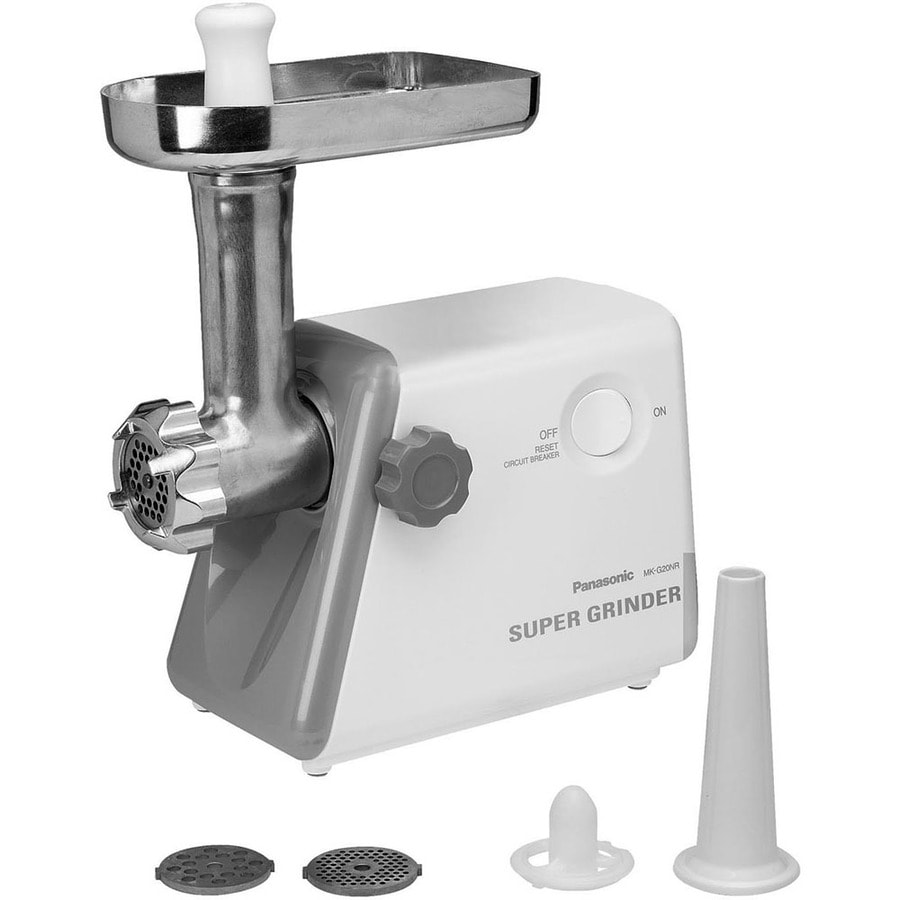 Panasonic 1-Speed White Electric Meat Grinder