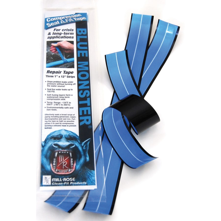 Blue Monster 3-Pack 1-in x 1-ft Pipe Wrap Tape