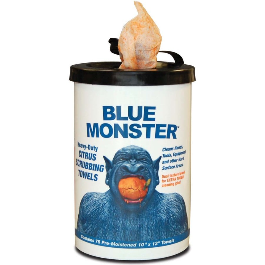 Blue Monster Soap/Lotion Dispenser
