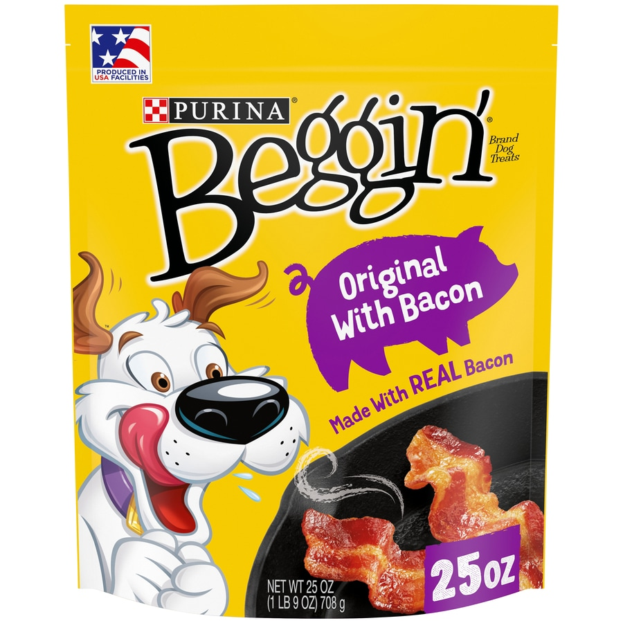 BEGGIN' 25-oz Bacon-Flavor Snacks