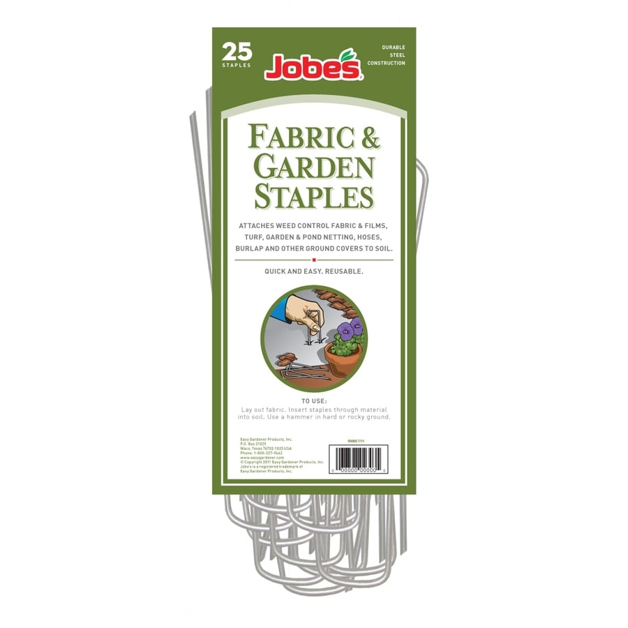 Jobe's 25-Pack 3.5-in Steel Landscape Fabric Pins