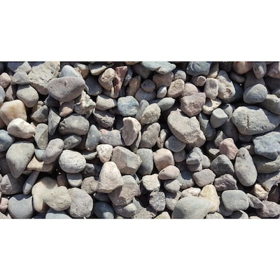 10 Cu Ft Brown Large River Rock At Lowes