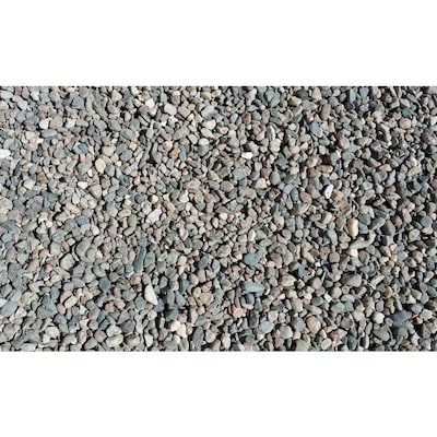 10 Cu Ft Brown Pea Gravel At Lowes Com