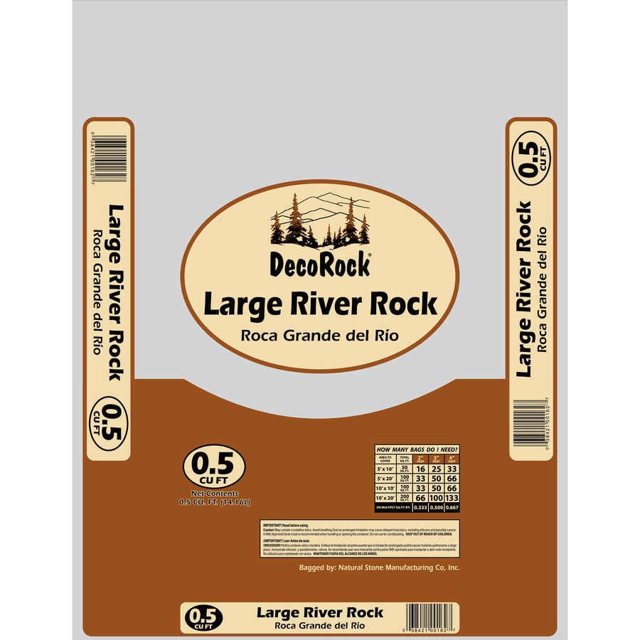 0.5-cu ft River Rock