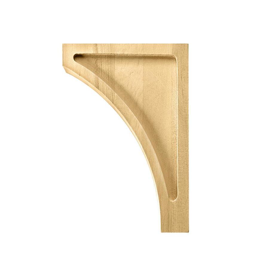 Waddell BR620 1.79-in x 9-in Wood Corbel