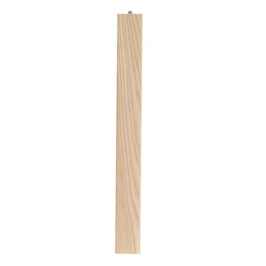 Waddell Ash End Table Leg (Actual: 0.625-in x 8-in)