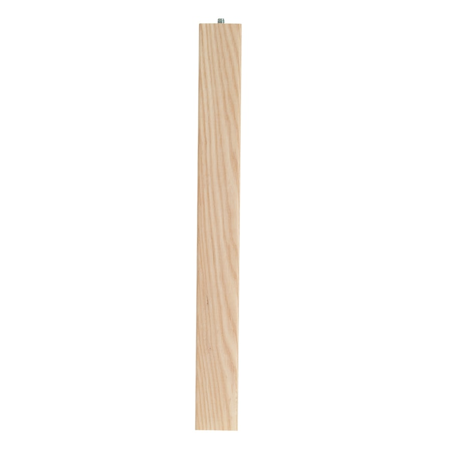 Waddell Ash End Table Leg (Actual: 0.625-in x 28-in)
