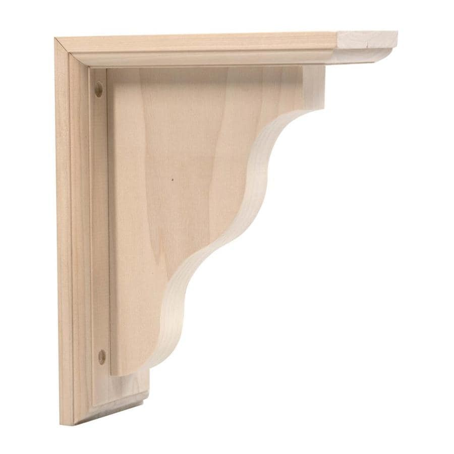 Waddell 3 5 In X 9 In Two Way Bracket Corbel At Lowes Com