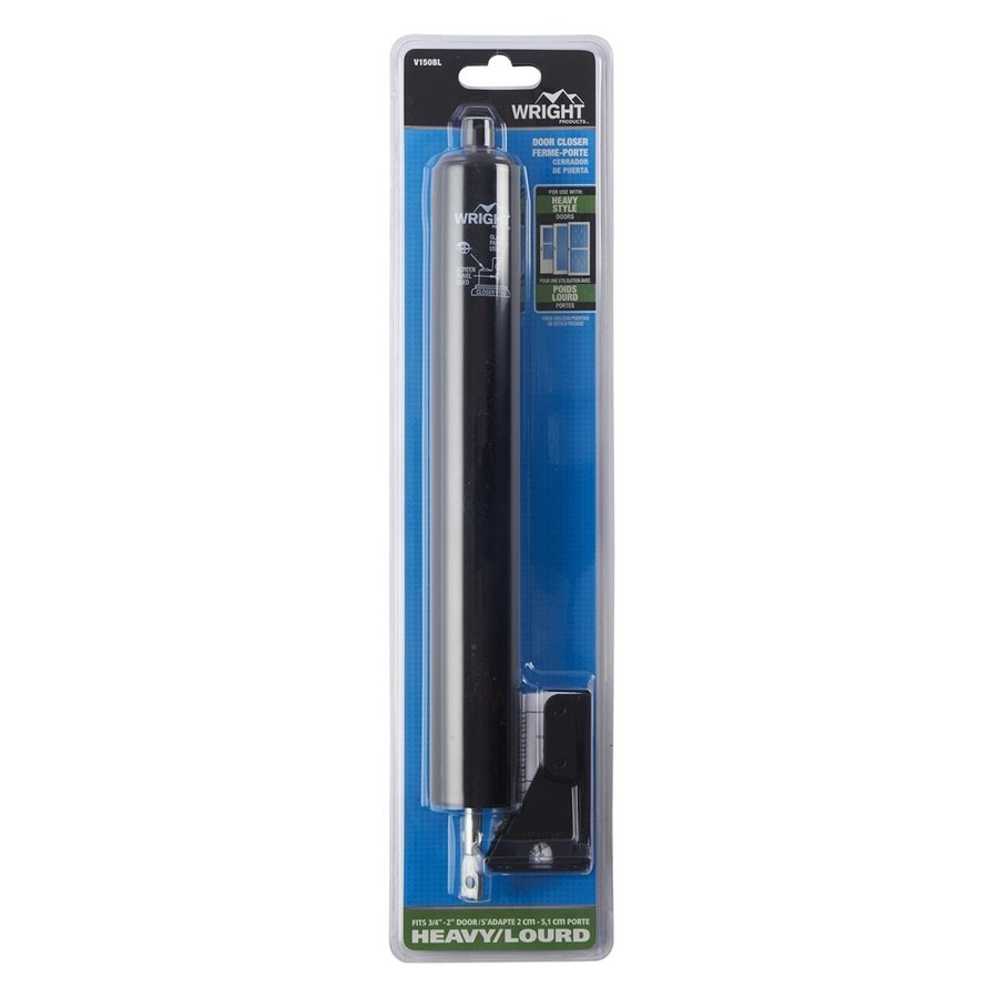 Wright Products 12 625 In Black Adjustable Hold Open