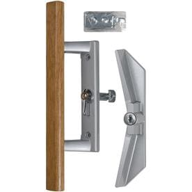 sliding door handle hardware. WRIGHT PRODUCTS 3.94-in Surface Mounted Sliding Patio Door Handle Hardware