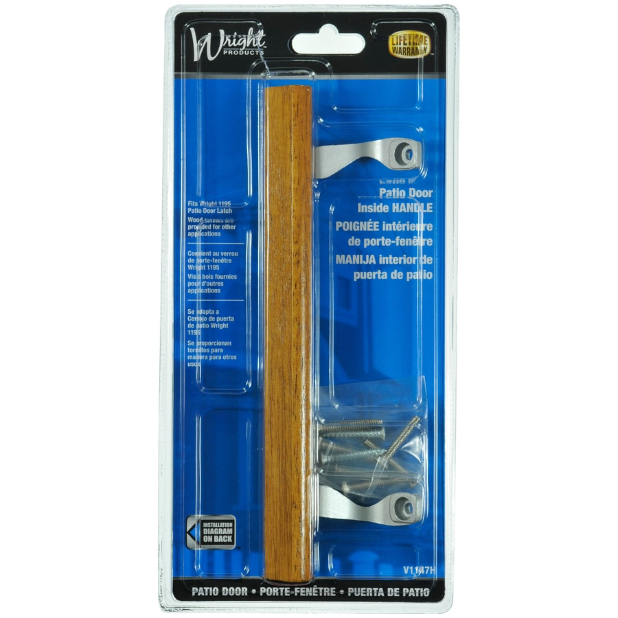 WRIGHT PRODUCTS 6.5-in Flush Mount Sliding Patio Door ...