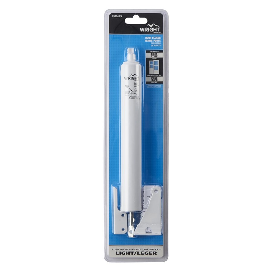 Shop Wright Products 11 In White Adjustable Hold Open Pneumatic