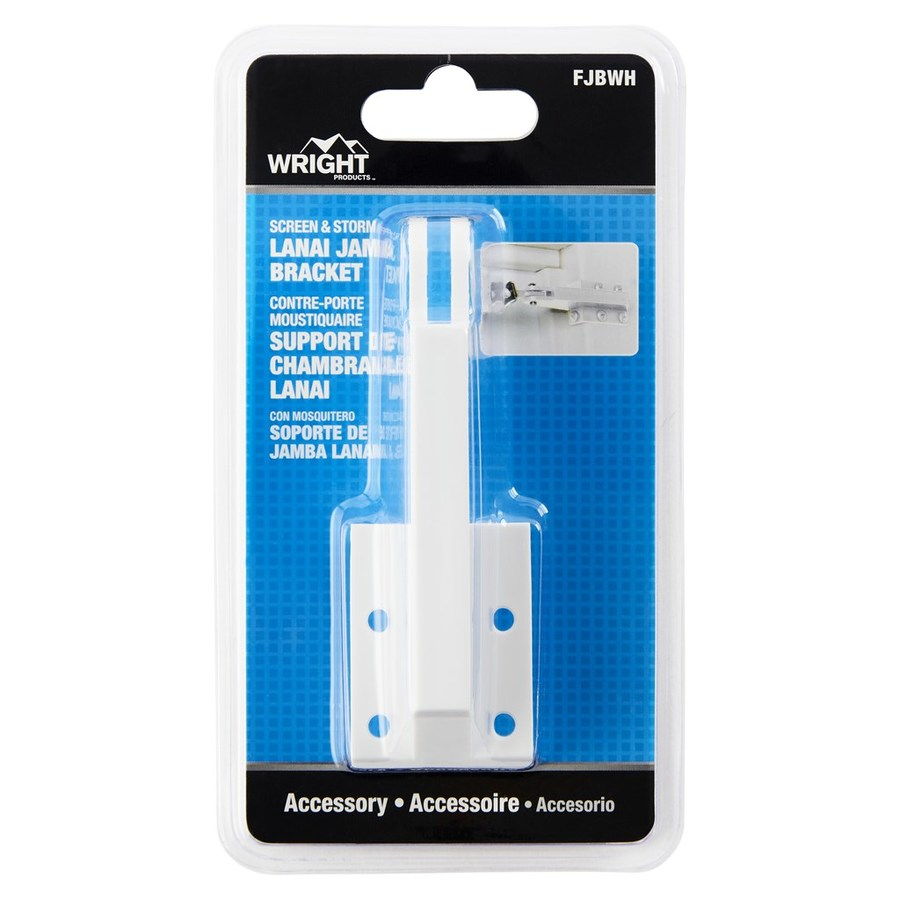WRIGHT PRODUCTS Screen Door And Storm Door Jamb Bracket
