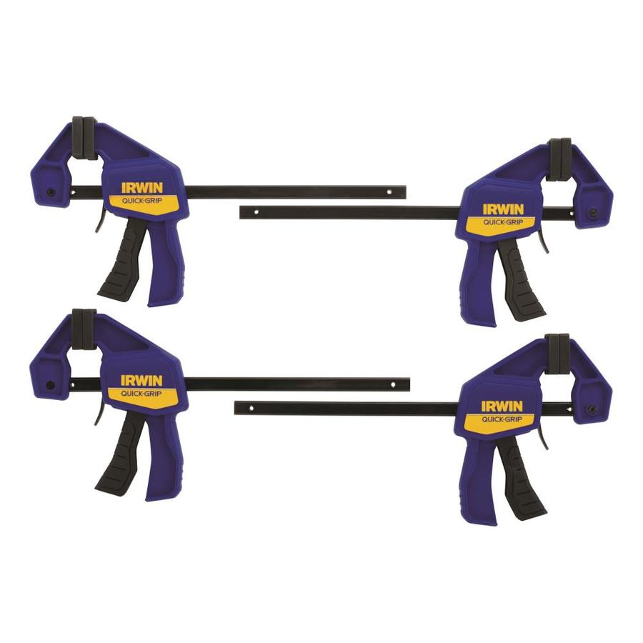 IRWIN QUICK-GRIP 4-Pack 6-in Clamps