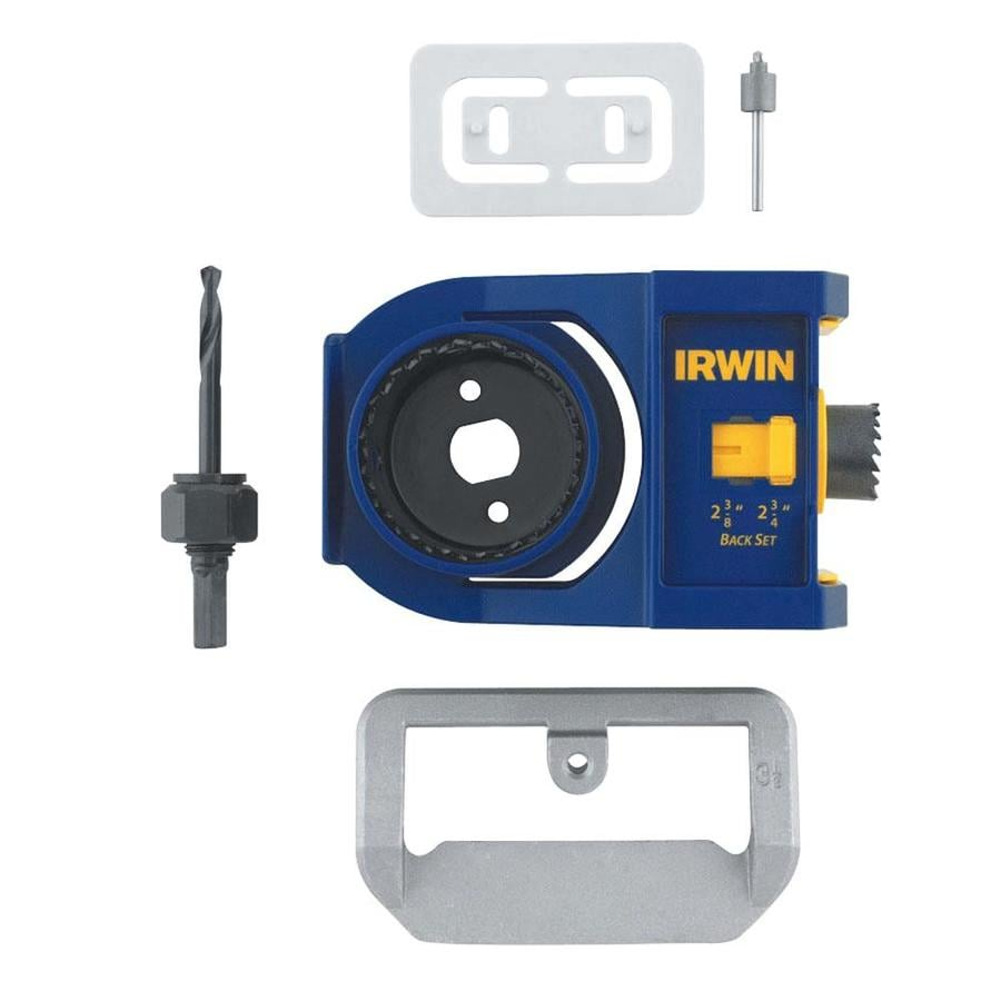 IRWIN 8-Piece Bi-Metal Hole Saw Kit