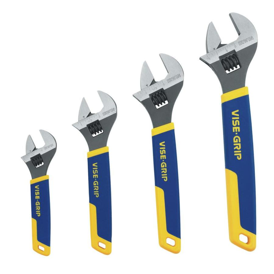IRWIN VISE-GRIP Steel Adjustable Wrench Set