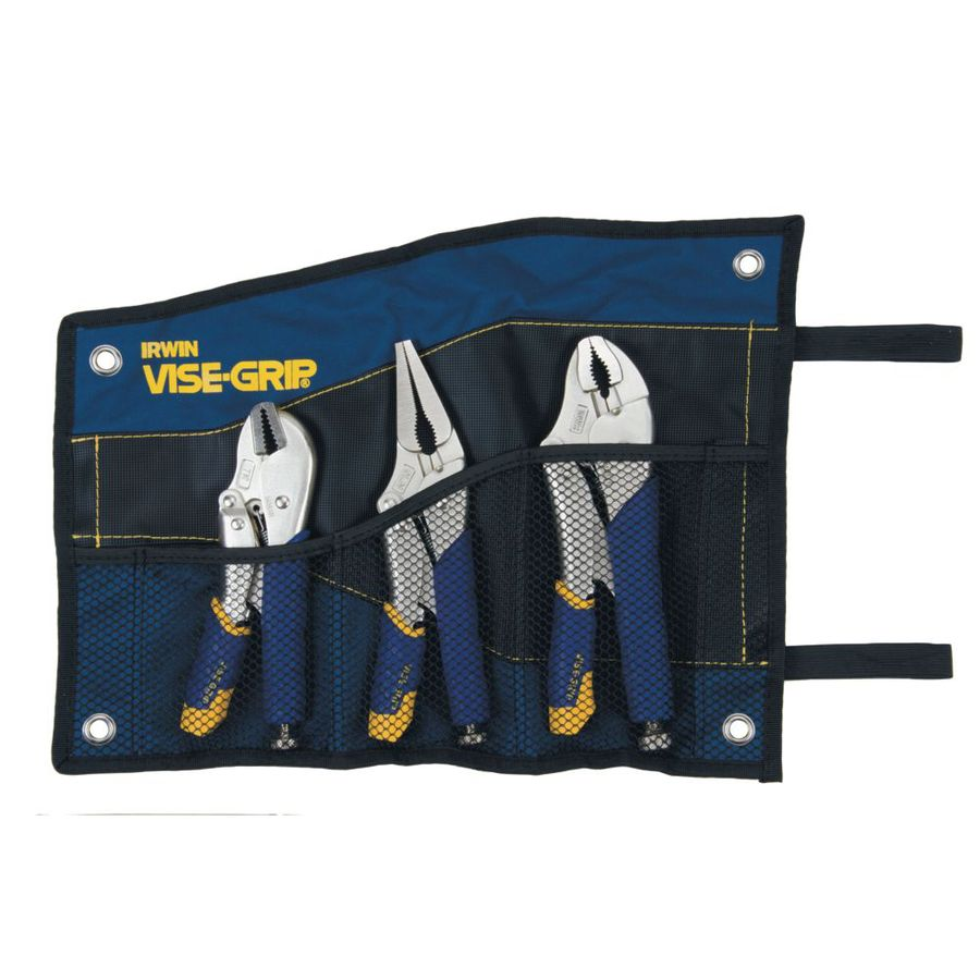 IRWIN VISE-GRIP Fast Release 3-Pack Locking Plier Set