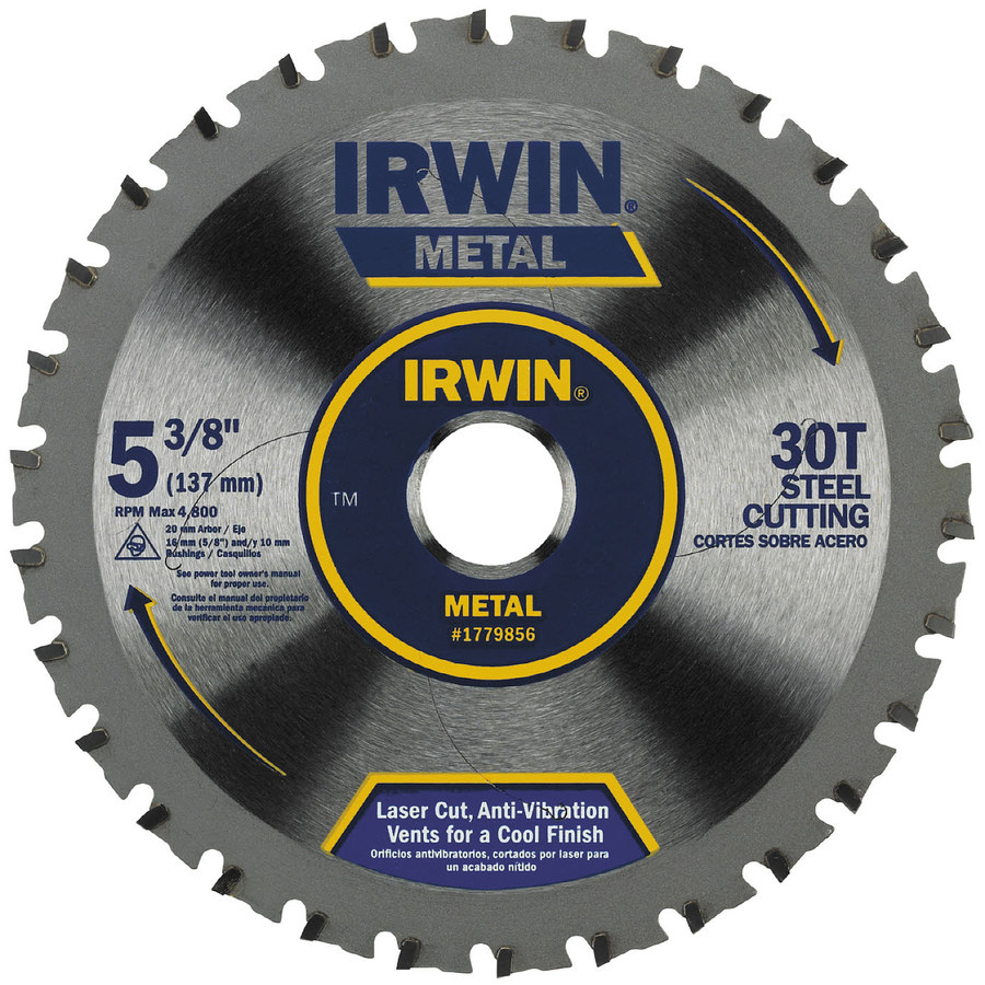 IRWIN 5-3/8-in 30-Tooth Carbide Circular Saw Blade