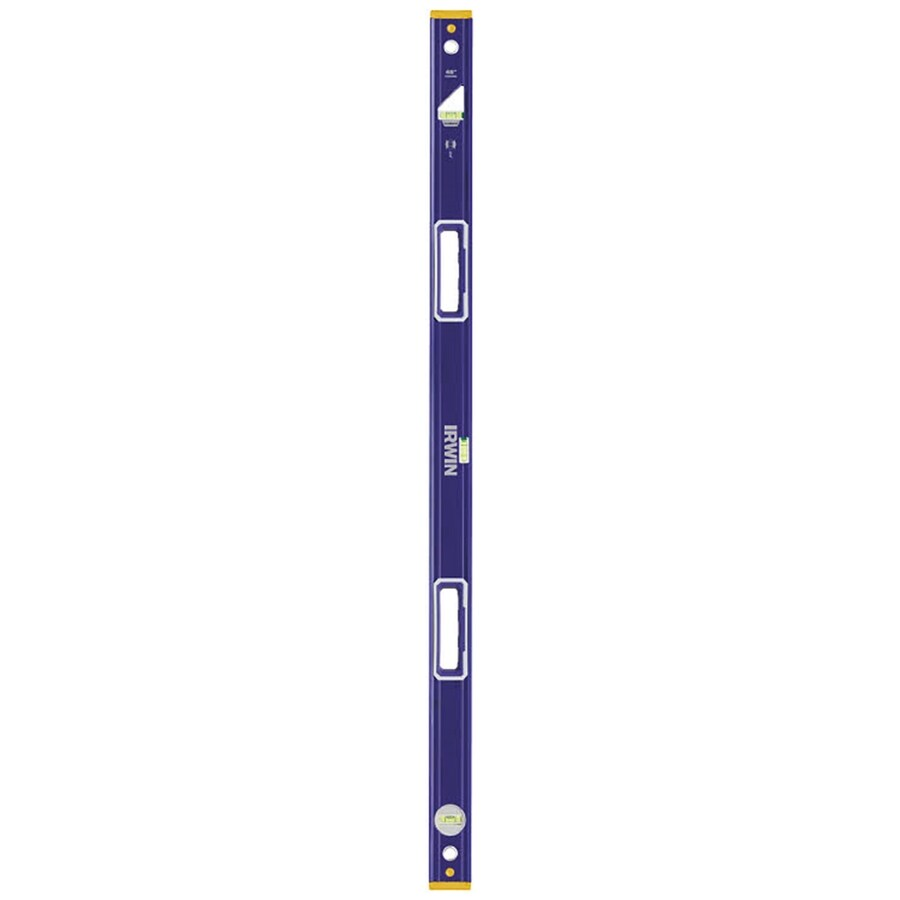 IRWIN 2550 Heavy Duty 48-in Magnetic Box Beam Standard Level