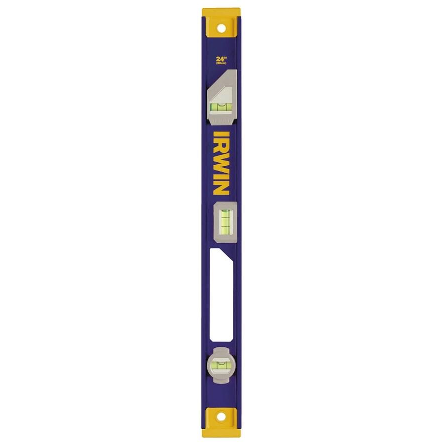 IRWIN 1550 Heavy Duty 24-in Magnetic I-Beam Standard Level