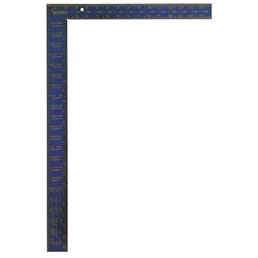 IRWIN Hi-Contrast Aluminum Framing Square