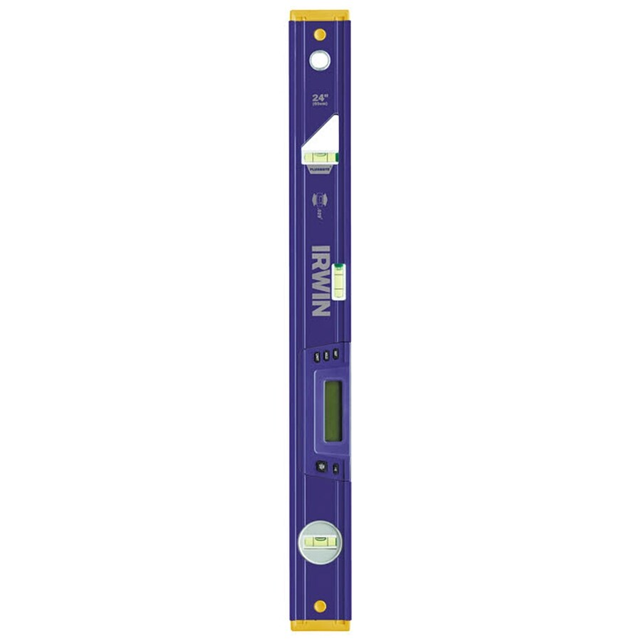 IRWIN 2500E Heavy Duty 24-in Digital Display Box Beam Standard Level