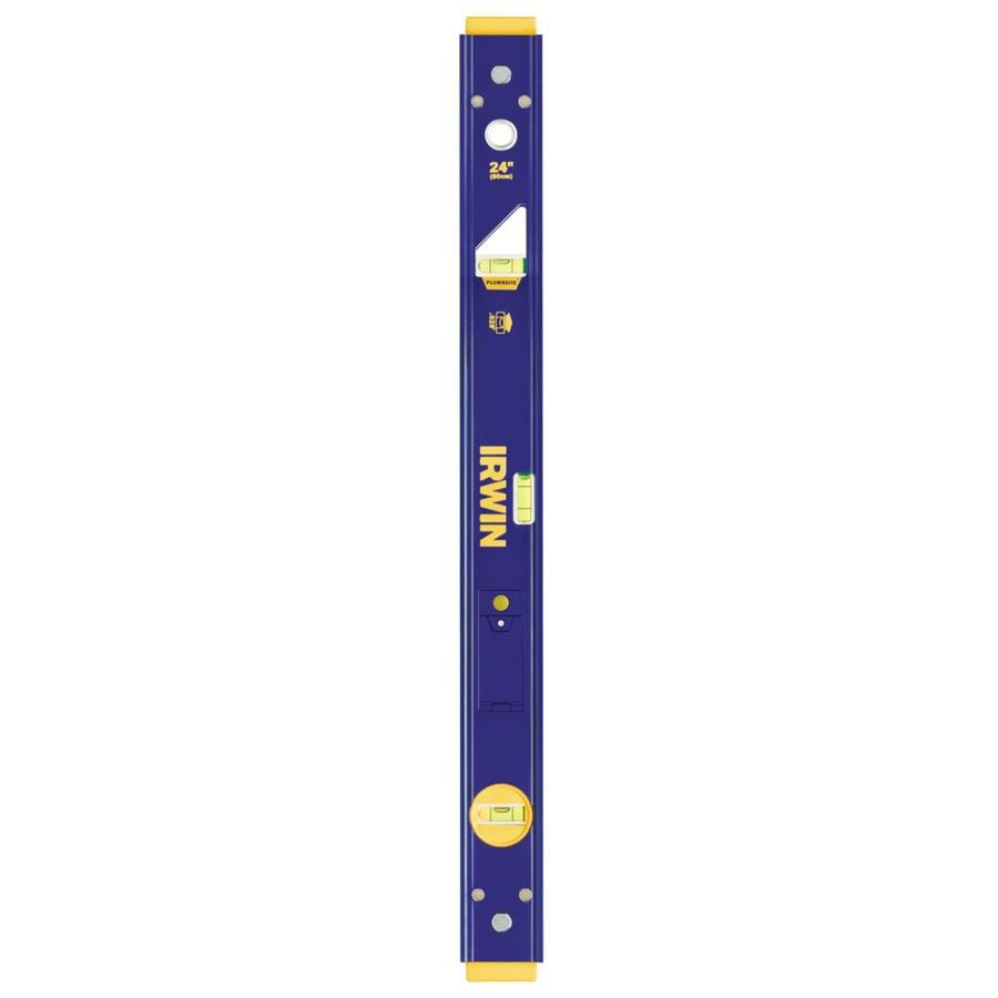 IRWIN 2000L Lighted 24-in Box Beam Standard Level