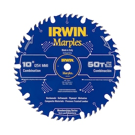 IRWIN Marples 10-in 50-Tooth Carbide Circular Saw Blade