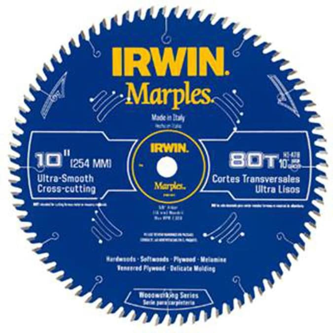 80 Tooth Carbide Miter Table Saw Blade