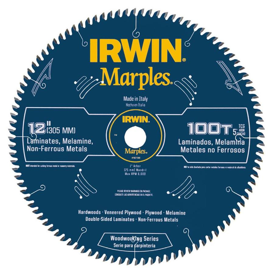 IRWIN Marples-Pack 12-in-Tooth Circular Saw Blade
