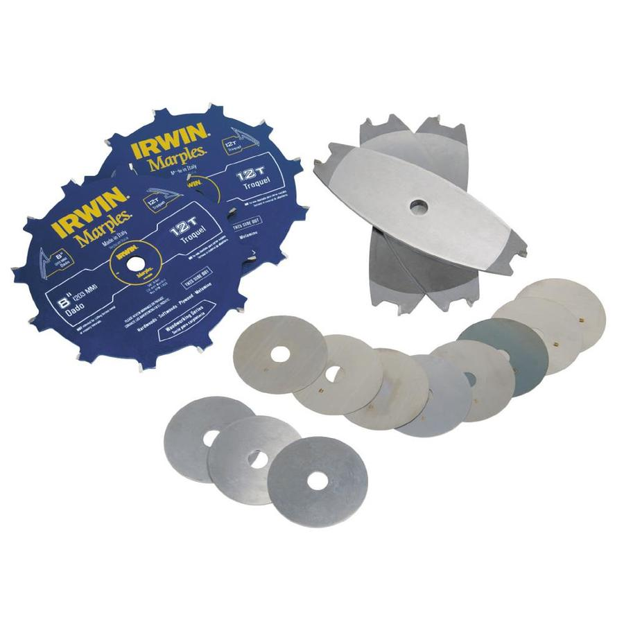 Shop irwin 8 in dado circular saw blade set at lowes irwin 8 in dado circular saw blade set greentooth Images