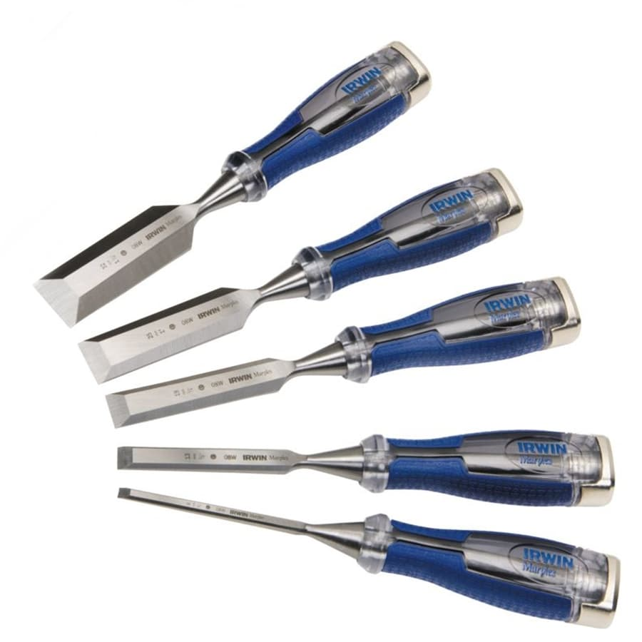 IRWIN Marples 5-Pack High Impact Chisels Set