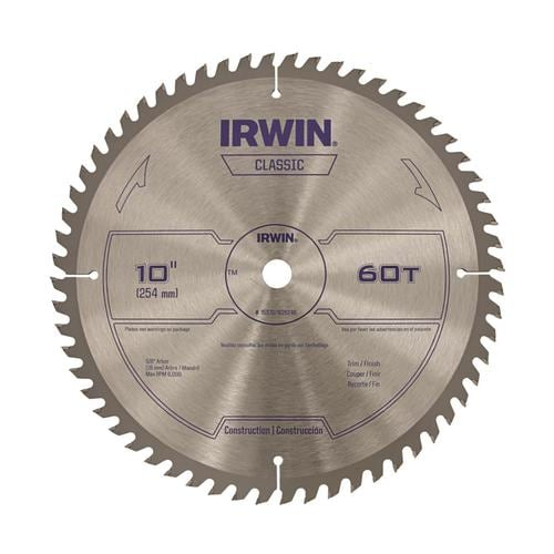 60 Tooth Carbide Miter Table Saw Blade