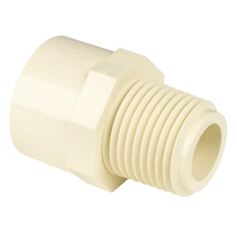 Genova 3/4-in Dia Adapter CPVC Fittings