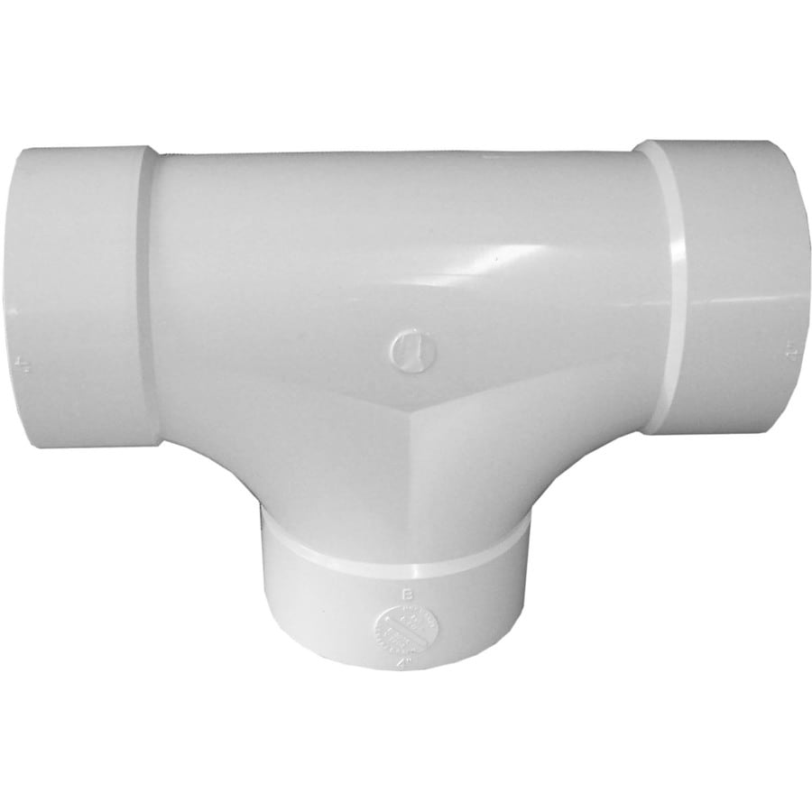 Genova 4-in dia 90-Degree PVC Sewer Drain Sewer Fittings