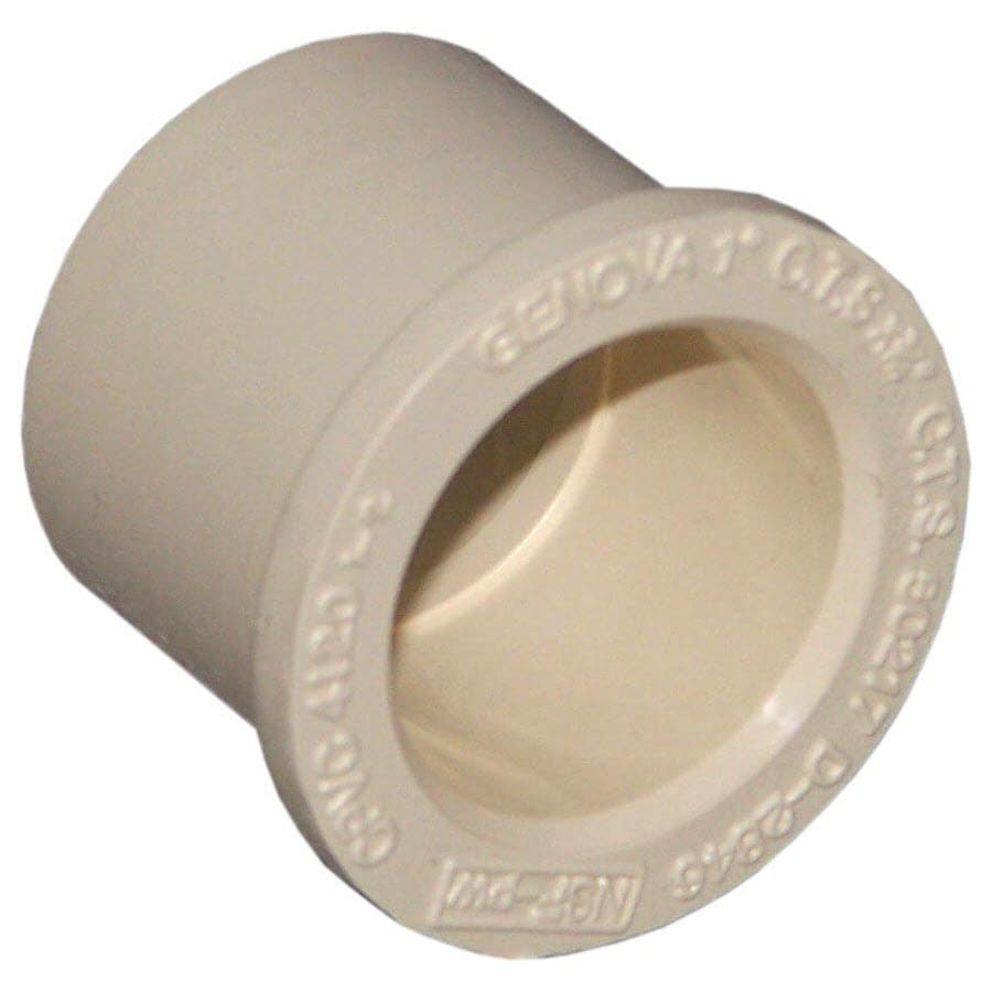 Genova 1-in dia Bushing CPVC Fittings