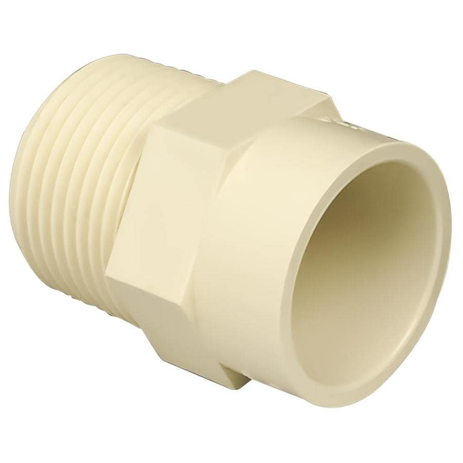 Genova 1-in Dia Adapter CPVC Fittings