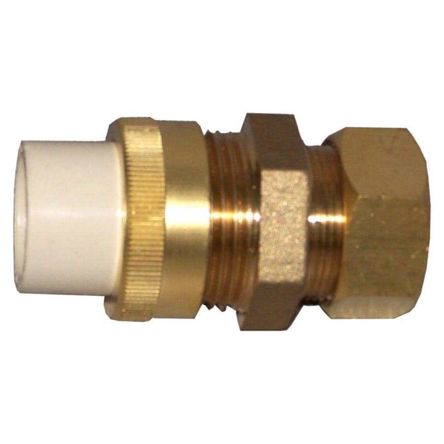Shop genova adapter cpvc fittings at for Cpvc hot water