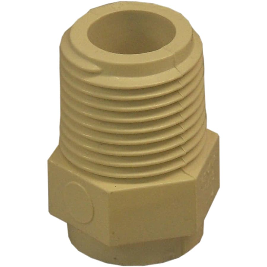 Genova 10-Pack 1/2-in Dia Adapter CPVC Fittings