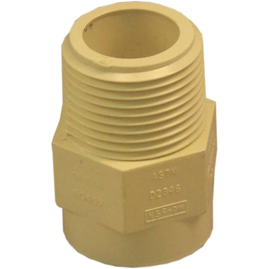 Genova 10-Pack 1.63-in dia Adapter CPVC Fittings
