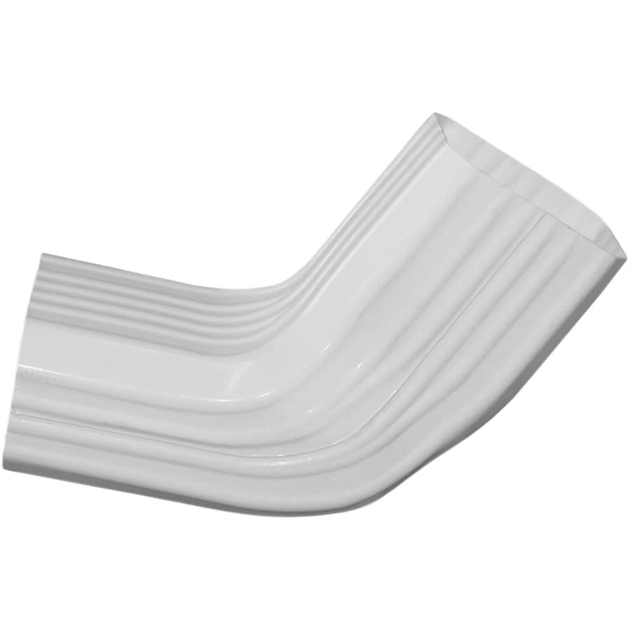 Severe Weather 3.288-in White Vinyl Side Elbow