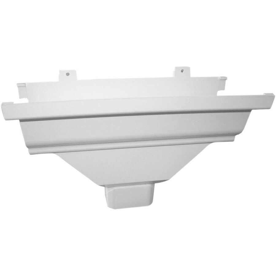 Severe Weather 4.875-in x 4.94-in K Style Gutter Drop Outlet