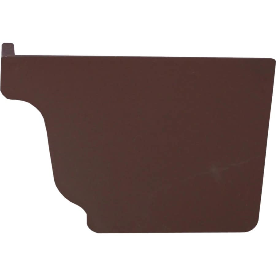 Severe Weather Vinyl K Style Right Gutter End Cap