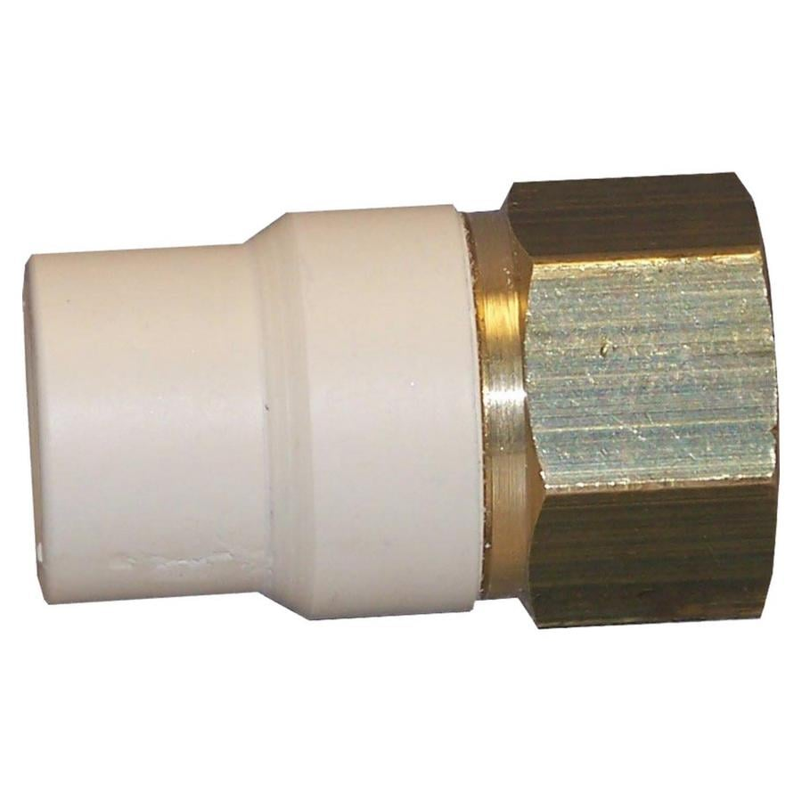 Shop genova adapter cpvc fittings at lowes