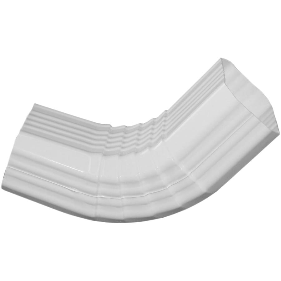 Severe Weather 4.41-in White Vinyl Front Elbow