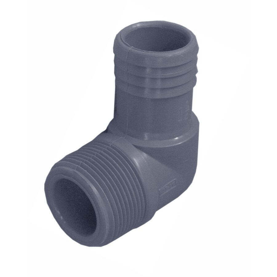 Genova 1-1/4-in Dia Polypropylene 90-Degree Elbow
