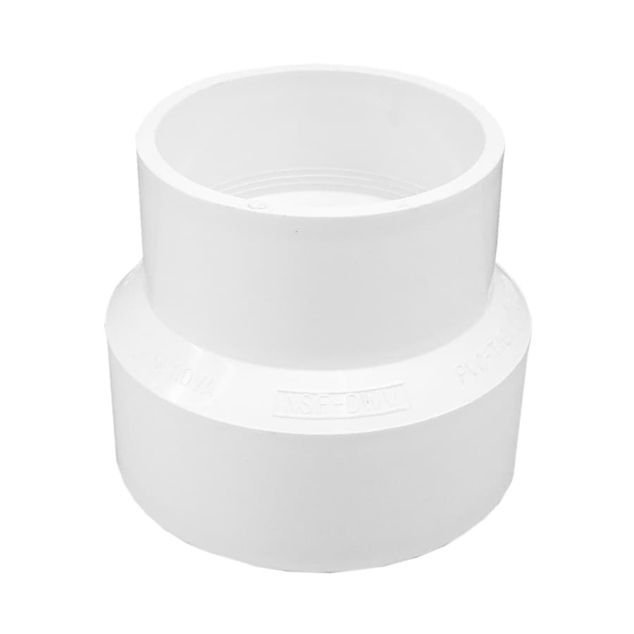 Genova 3-in dia PVC Adapter Fitting