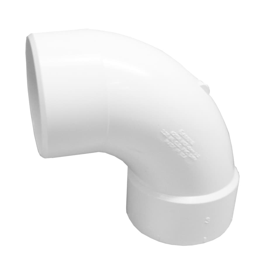 Genova 3-in Dia 90-Degree PVC Sanitary Street Elbow Fitting